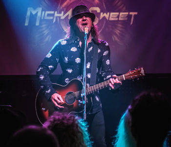 PHOTOS: MICHAEL SWEET (STRYPER). FRIDAY NOVEMBER 15, 2019- WOOLY MAMMOTH, BRISBANE