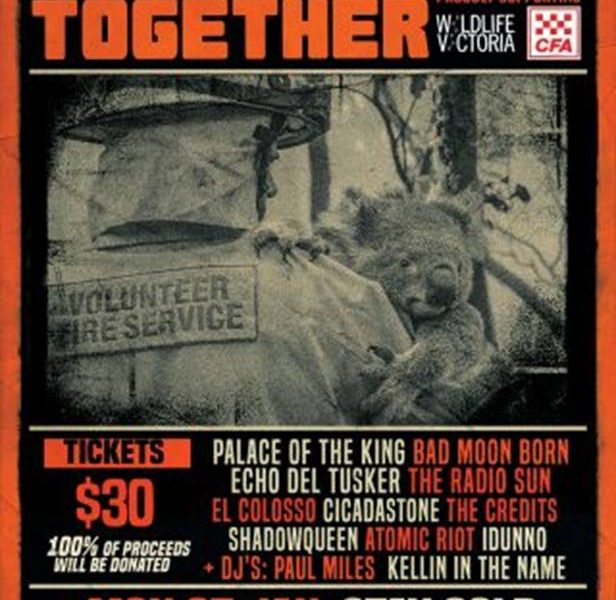 NEWS: BAND TOGETHER -Victorian Wildlife and the Country Fire Service Benefit Show Presented by Silverback Touring