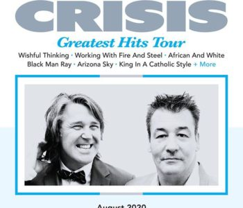 NEWS: CHINA CRISIS Announce August 2020 Australian And NZ Tour